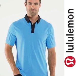 Lululemon Athletica Post Practice Polo Shirt